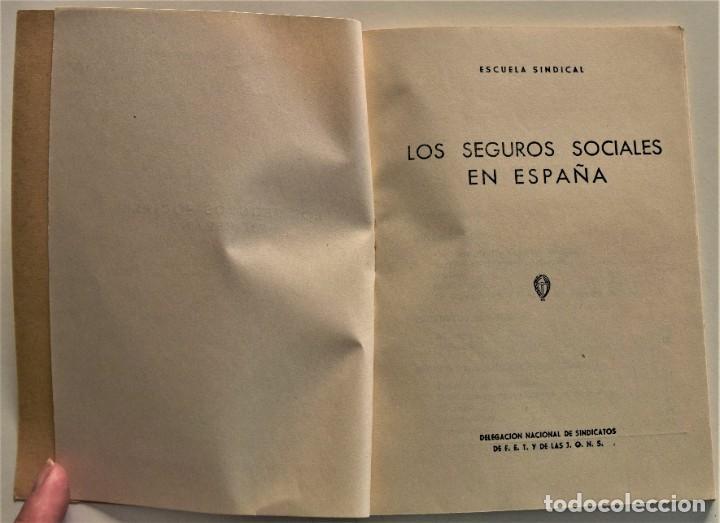 Libros: LOTE CUATRO PUBLICACIONES ESCUELA SINDICAL DE LA F.E.T. Y DE LAS J.ON.S. AÑOS 50 - VER RELACIÓN - Foto 8 - 225207857