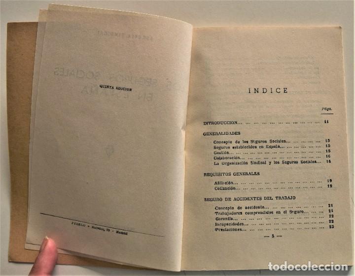 Libros: LOTE CUATRO PUBLICACIONES ESCUELA SINDICAL DE LA F.E.T. Y DE LAS J.ON.S. AÑOS 50 - VER RELACIÓN - Foto 9 - 225207857