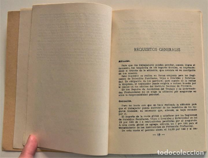 Libros: LOTE CUATRO PUBLICACIONES ESCUELA SINDICAL DE LA F.E.T. Y DE LAS J.ON.S. AÑOS 50 - VER RELACIÓN - Foto 11 - 225207857