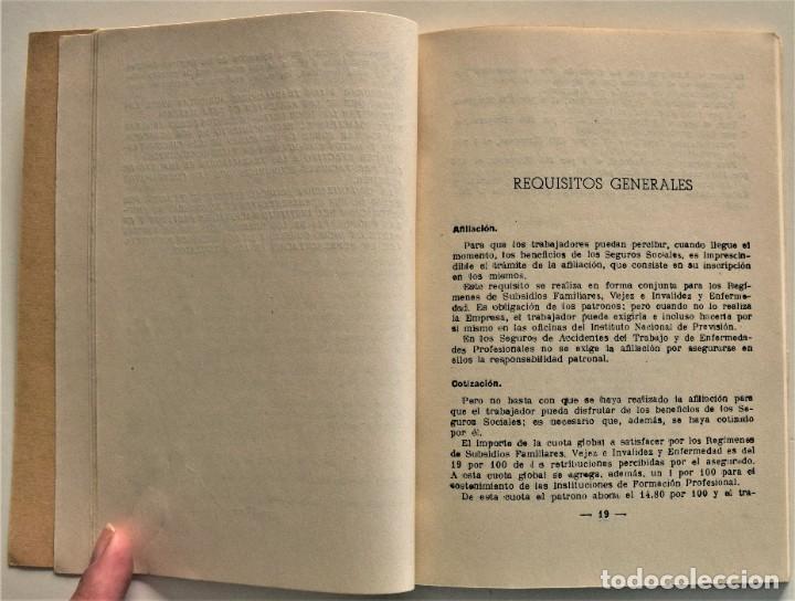 Libros: LOTE CUATRO PUBLICACIONES ESCUELA SINDICAL DE LA F.E.T. Y DE LAS J.ON.S. AÑOS 50 - VER RELACIÓN - Foto 12 - 225207857