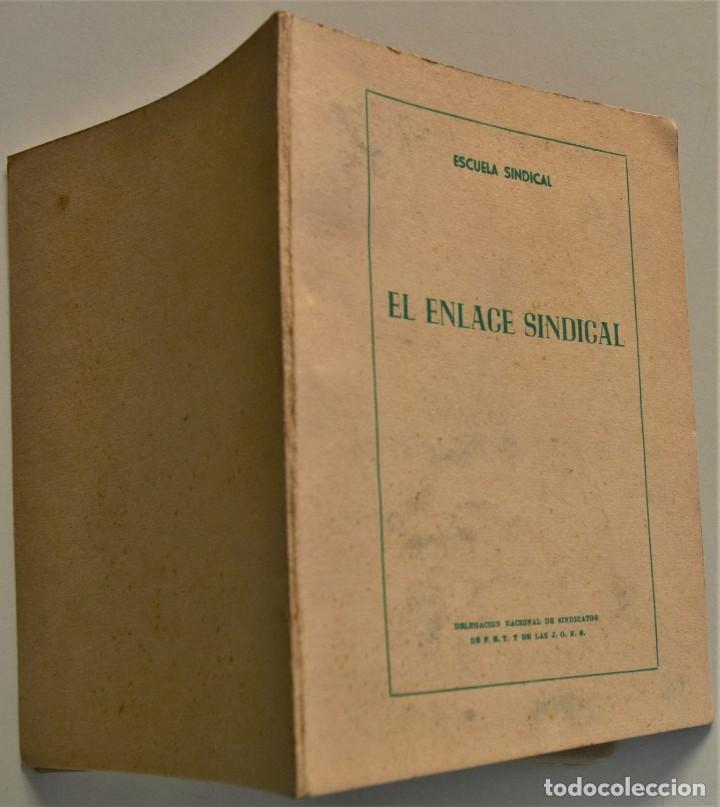 Libros: LOTE CUATRO PUBLICACIONES ESCUELA SINDICAL DE LA F.E.T. Y DE LAS J.ON.S. AÑOS 50 - VER RELACIÓN - Foto 13 - 225207857