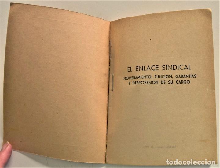 Libros: LOTE CUATRO PUBLICACIONES ESCUELA SINDICAL DE LA F.E.T. Y DE LAS J.ON.S. AÑOS 50 - VER RELACIÓN - Foto 14 - 225207857