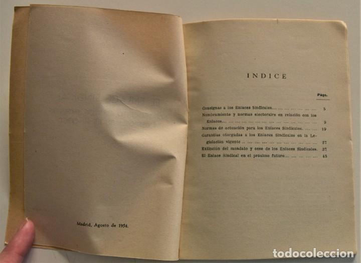 Libros: LOTE CUATRO PUBLICACIONES ESCUELA SINDICAL DE LA F.E.T. Y DE LAS J.ON.S. AÑOS 50 - VER RELACIÓN - Foto 15 - 225207857