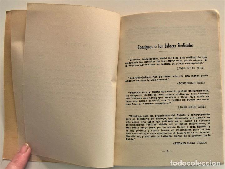Libros: LOTE CUATRO PUBLICACIONES ESCUELA SINDICAL DE LA F.E.T. Y DE LAS J.ON.S. AÑOS 50 - VER RELACIÓN - Foto 16 - 225207857