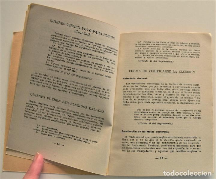 Libros: LOTE CUATRO PUBLICACIONES ESCUELA SINDICAL DE LA F.E.T. Y DE LAS J.ON.S. AÑOS 50 - VER RELACIÓN - Foto 17 - 225207857