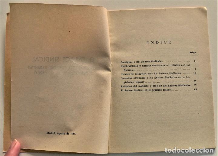 Libros: LOTE CUATRO PUBLICACIONES ESCUELA SINDICAL DE LA F.E.T. Y DE LAS J.ON.S. AÑOS 50 - VER RELACIÓN - Foto 18 - 225207857