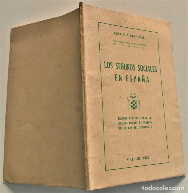 Libros: LOTE CUATRO PUBLICACIONES ESCUELA SINDICAL DE LA F.E.T. Y DE LAS J.ON.S. AÑOS 50 - VER RELACIÓN - Foto 19 - 225207857