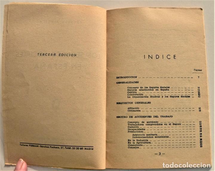 Libros: LOTE CUATRO PUBLICACIONES ESCUELA SINDICAL DE LA F.E.T. Y DE LAS J.ON.S. AÑOS 50 - VER RELACIÓN - Foto 21 - 225207857