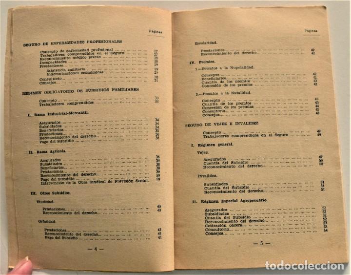 Libros: LOTE CUATRO PUBLICACIONES ESCUELA SINDICAL DE LA F.E.T. Y DE LAS J.ON.S. AÑOS 50 - VER RELACIÓN - Foto 22 - 225207857