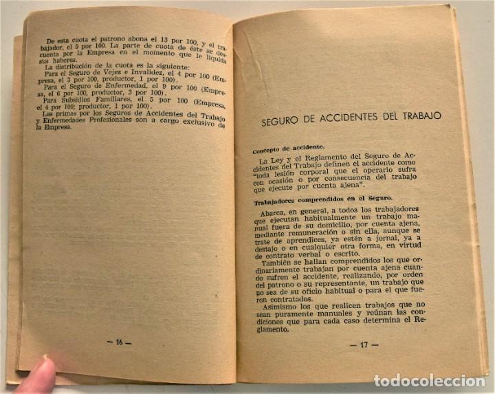 Libros: LOTE CUATRO PUBLICACIONES ESCUELA SINDICAL DE LA F.E.T. Y DE LAS J.ON.S. AÑOS 50 - VER RELACIÓN - Foto 23 - 225207857