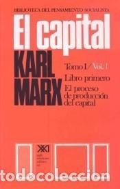 EL CAPITAL. TOMO I. VOL. 1, EL PROCESO DE PRODUCCIÓN DEL CAPITAL (Libros Nuevos - Ciencias, Manuales y Oficios - Derecho y Economía)