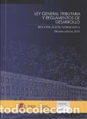 LEY GENERAL TRIBUTARIA Y REGLAMENTOS DE DESARROLLO (Libros Nuevos - Ciencias, Manuales y Oficios - Derecho y Economía)