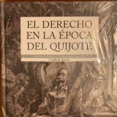 Libros: EL DERECHO EN L ÉPOCA DEL QUIJOTE.. Lote 231522470