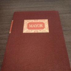 Libros: ANTIGUO LIBRO BALANCE CONTABILIDAD MAYOR MIQUELRIUS. Lote 232081530