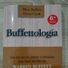 Livres: BUFFETTOLOGIA, MARY BUFFET DAVID CLARK, ECONOMÍA. Lote 233068180