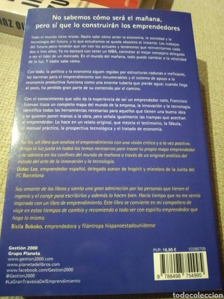 Libros: La gran travesia del emprendimiento. Estevan Vitores, Francisco. editorial Gestión 2000 - Foto 2 - 233776335