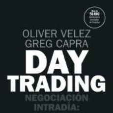 Libros: DAY TRADING. Lote 234285410