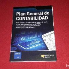 Libros: PLAN GENERAL DE CONTABILIDAD. EDITORIAL PROFIT. 2014. Lote 234307230