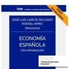 Libros: ECONOMÍA ESPAÑOLA. UNA INTRODUCCIÓN. Lote 234310495