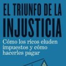 Libros: EL TRIUNFO DE LA INJUSTICIA. Lote 234508045
