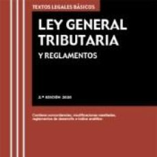 Libros: LEY GENERAL TRIBUTARIA Y REGLAMENTOS. Lote 234632905