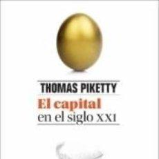 Libros: CAPITAL EN EL SIGLO XXI. Lote 235026025