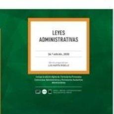 Libros: LEYES ADMINISTRATIVAS DUO. Lote 235026045
