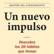 Libros: NUEVO IMPULSO, UN. Lote 236499035