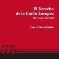 Libros: EL DERECHO DE LA UNIÓN EUROPEA. Lote 237059200
