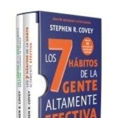 Libros: ESTUCHE LOS 7 HÁBITOS DE LA GENTE ALTAMENTE EFECTIVA + CUADERNO DE TRABAJO. Lote 237452850