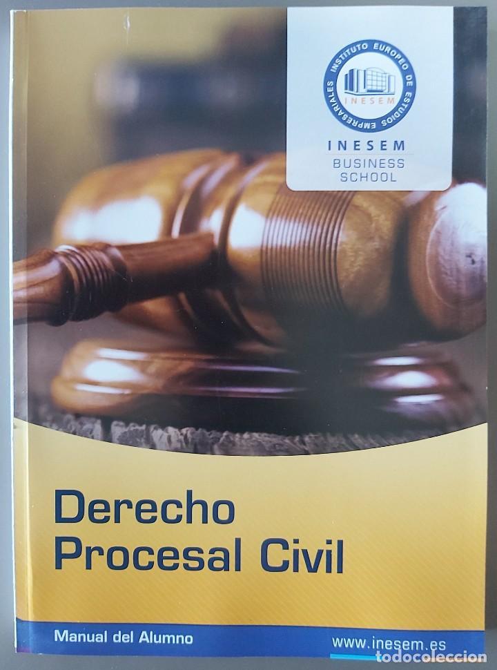 DERECHO PROCESAL CIVIL (DEL CURSO DE DETECTIVE PRIVADO. AÑO 2020] (Libros Nuevos - Ciencias, Manuales y Oficios - Derecho y Economía)