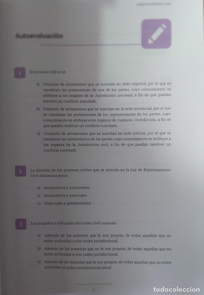 Libros: DERECHO PROCESAL CIVIL (DEL CURSO DE DETECTIVE PRIVADO. AÑO 2020] - Foto 4 - 237489395