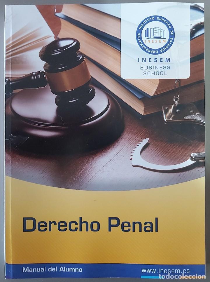 DERECHO PENAL (DEL CURSO DE DETECTIVE PRIVADO. AÑO 2020] (Libros Nuevos - Ciencias, Manuales y Oficios - Derecho y Economía)