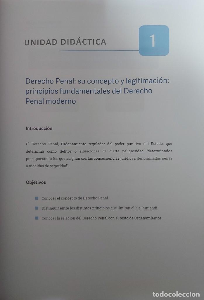 Libros: DERECHO PENAL (DEL CURSO DE DETECTIVE PRIVADO. AÑO 2020] - Foto 3 - 237492740
