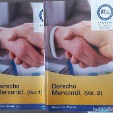 Libros: DERECHO MERCANTIL, TOMO I Y II. Lote 237494050