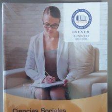 Libros: CIENCIAS SOCIALES, PSICOLÓGICAS Y CRIMINOLÓGICAS - DEONTOLOGÍA - NORMATIVA SEGURIDAD PRIVADA.. Lote 237495785
