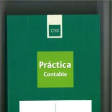Libri: PRACTICA CONTABLE 2009-2010. EDITORIAL CISS (GRUPO WOLTERS KLUVER).. Lote 238623220
