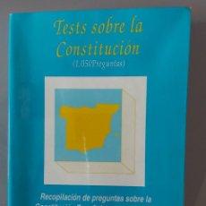 Libros: TEST DE CONSTITUCIÓN ESPAÑOLA. Lote 238762000