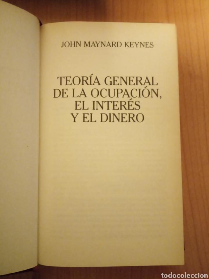Libros: Teoría general de la ocupación, el interés y el dinero, Keynes. - Foto 3 - 240337395