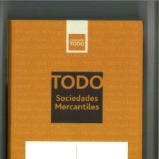Libri: TODO SOCIEDADES MERCANTILES 2013. Lote 240479405