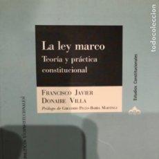 Libros: DONAIRE LA LEY MARCO. Lote 241240400