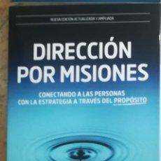 Libros: DIRECCIÓN POR MISIONES. PABLO CARDONA CARLOS REY. Lote 243861095