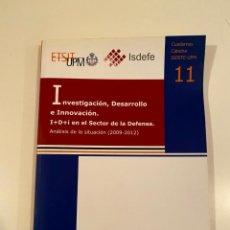 "Libros: ""INVESTIGACIÓN, DESARROLLO E INNOVACIÓN"" - VICENTE ORTEGA. Lote 245157530"