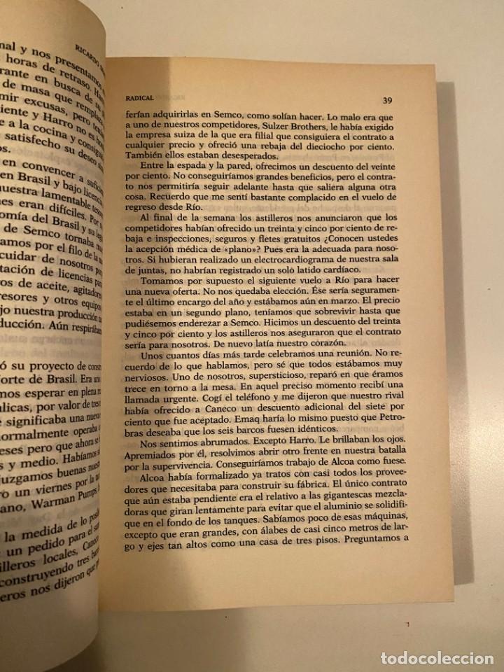 "Libros: ""RADICAL"" - RICARDO SEMLER - Foto 4 - 245370340"