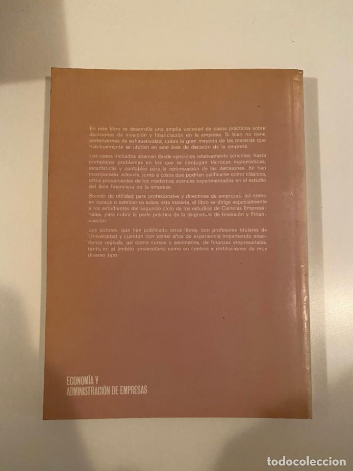 """Libros: """"CASOS PRÁCTICOS DE INVERSIÓN Y FINANCIACIÓN EN LA EMPRESA"""" - VARIOS AUTORES - Foto 2 - 245372475"""