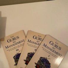 """Libros: """"LOS GURUS DEL MANAGEMENT""""- ACTUALIDAD ECONÓMICA 3 LIBROS. Lote 245384760"""