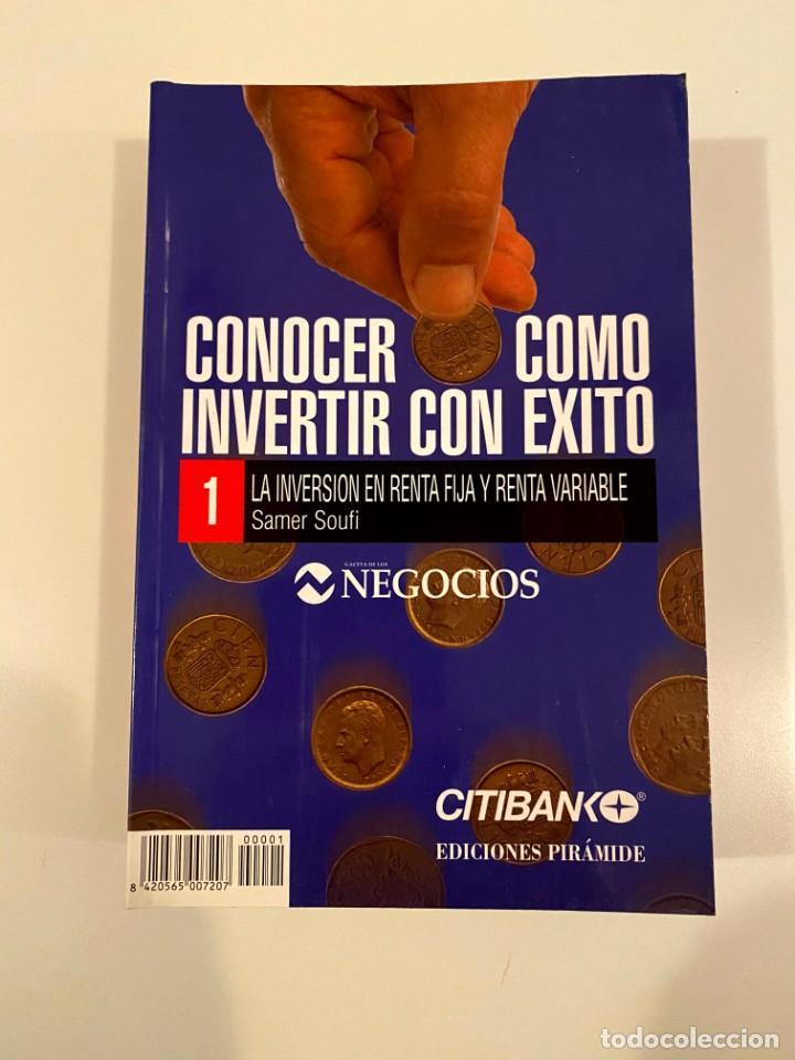 """""""CONOCER COMO INVERTIR CON EXITO""""- 8 LIBROS (Libros Nuevos - Ciencias, Manuales y Oficios - Derecho y Economía)"""