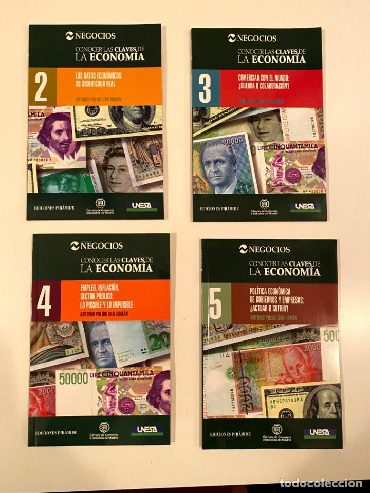 """""""CONOCER LAS CLAVES DE LA ECONOMÍA"""" 4 LIBROS (Libros Nuevos - Ciencias, Manuales y Oficios - Derecho y Economía)"""