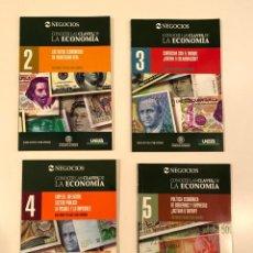 """Libros: """"CONOCER LAS CLAVES DE LA ECONOMÍA"""" 4 LIBROS. Lote 245387020"""