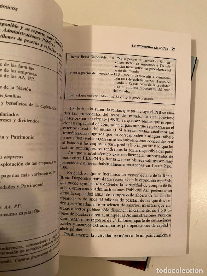 """Libros: """"CONOCER LAS CLAVES DE LA ECONOMÍA"""" 4 LIBROS - Foto 3 - 245387020"""